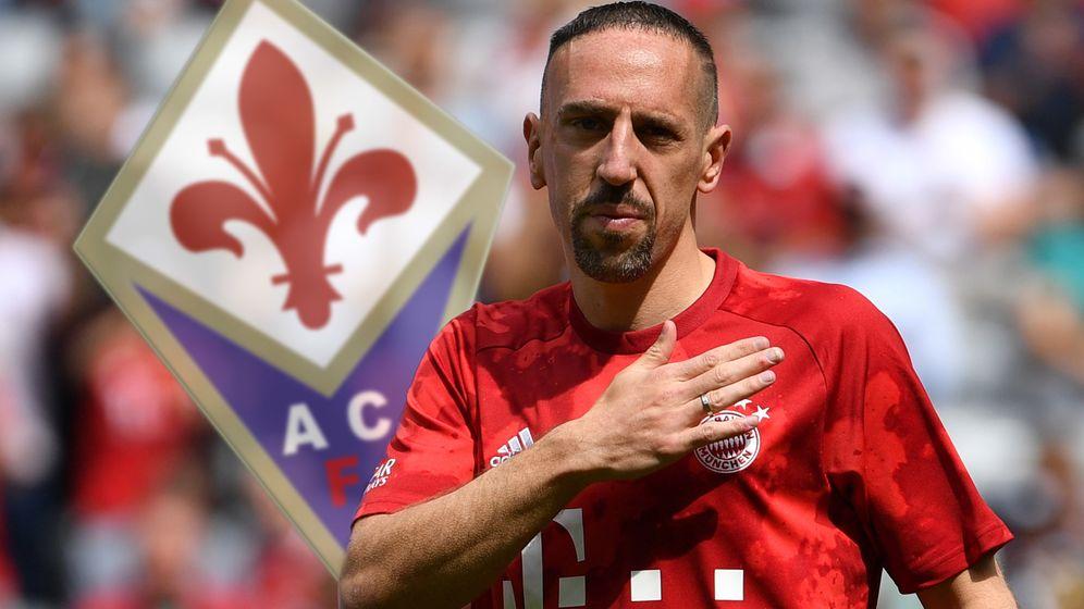 Ex-Bayern-Star Franck Ribéry wechselt zum AC Florenz   Bild:picture alliance/dpa