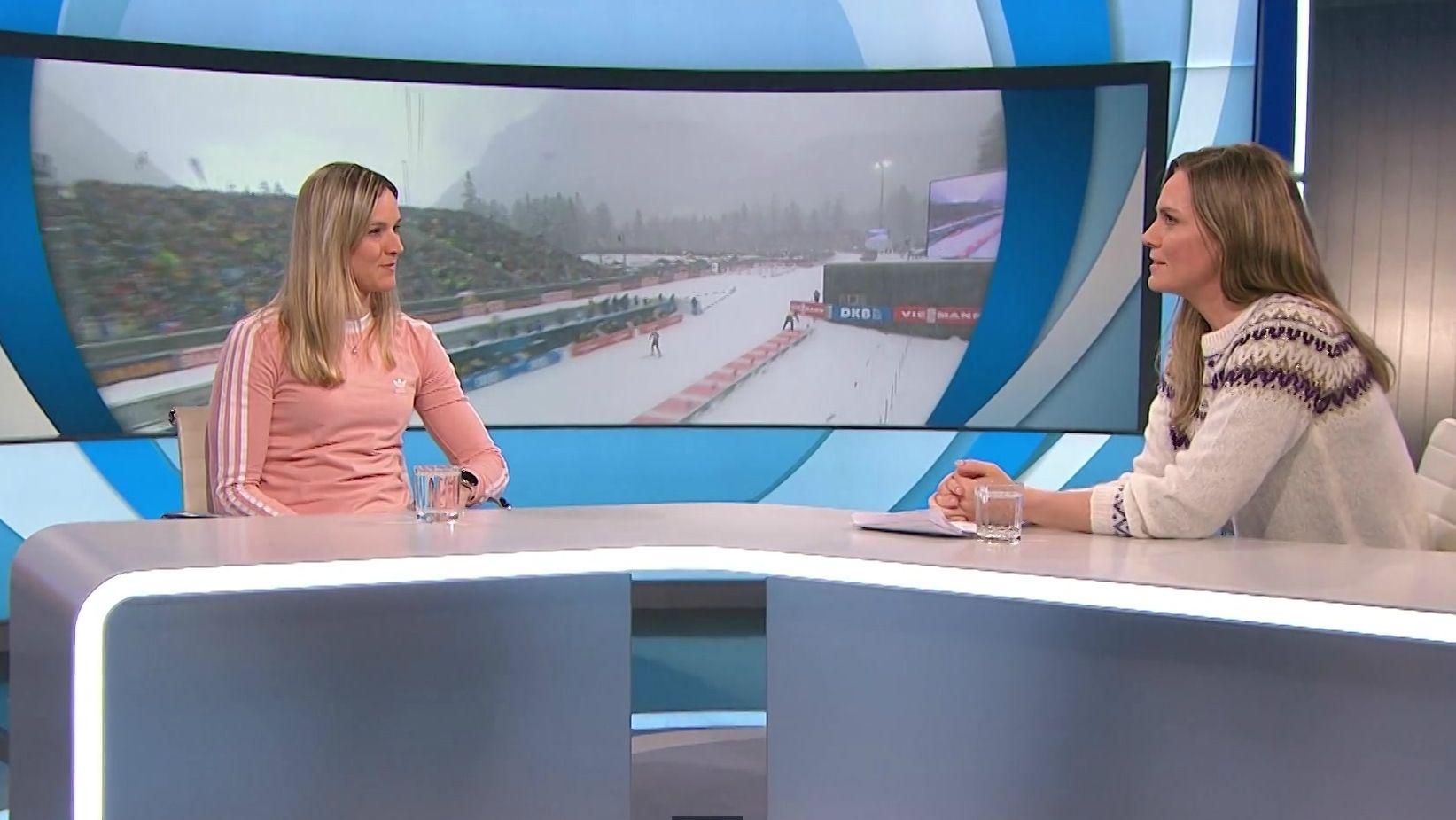 Denise Herrmann zu Gast bei Blickpunkt Sport