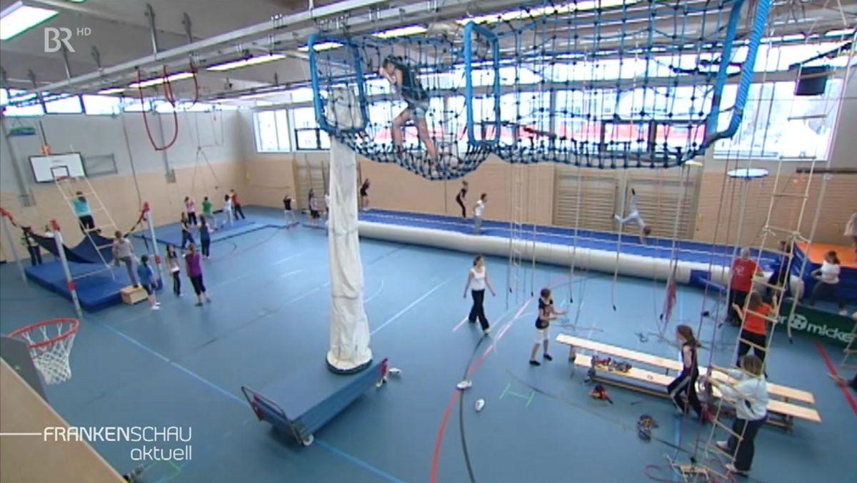 Turnhalle eines DJK-Sportvereins