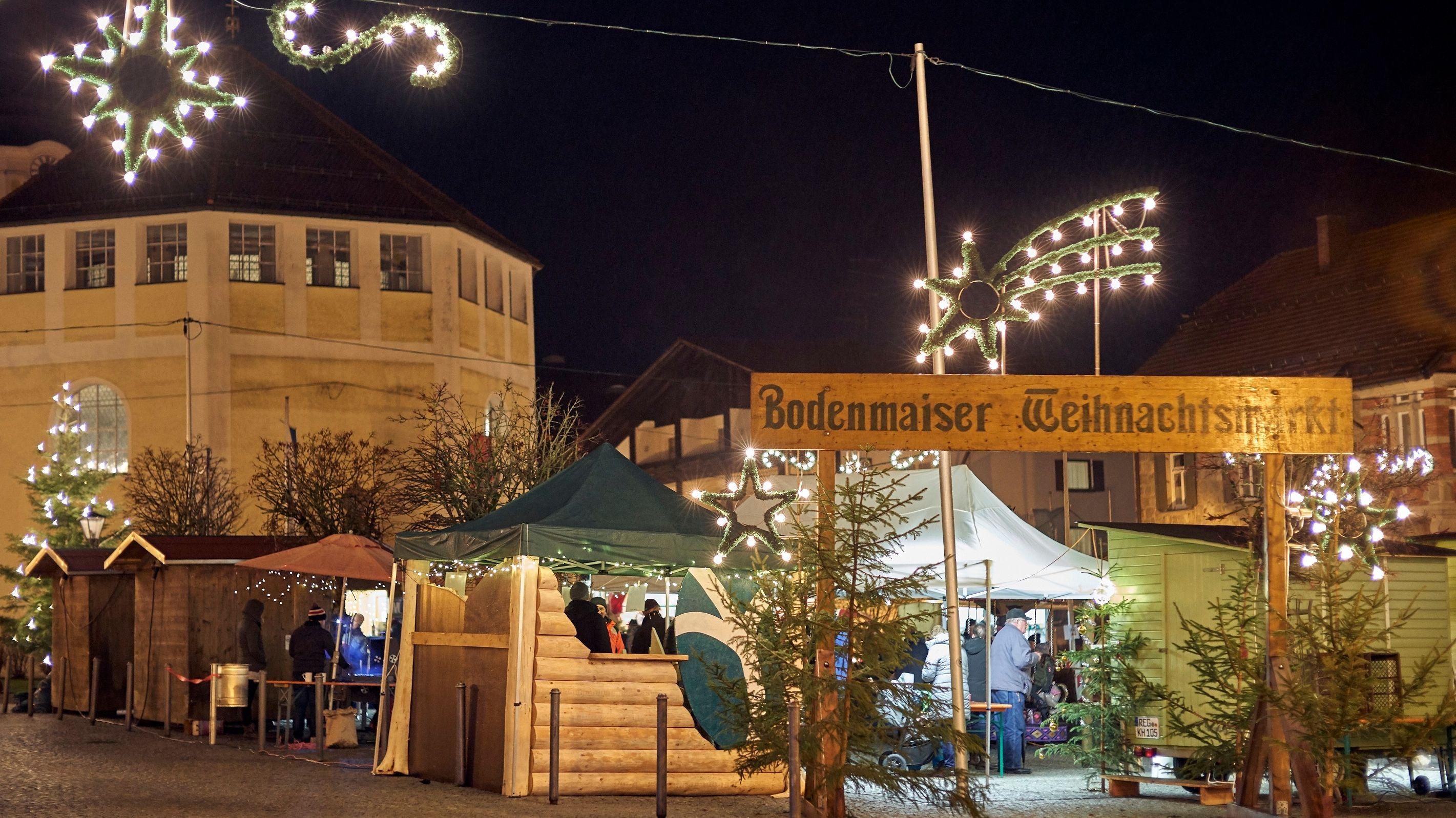 Bodenmaiser Weihnachtsmarkt am dritten Adventswochenende