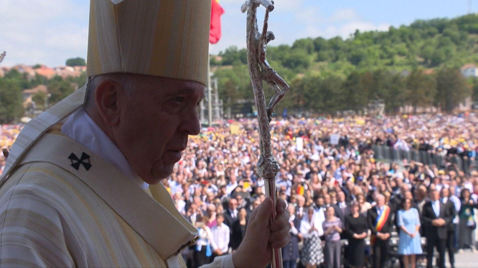 Papst Franziskus in Rumänien