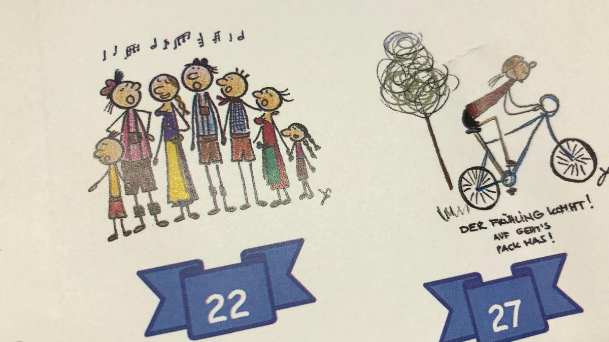 Zeichnungen von Julia Hölzl-Umminger