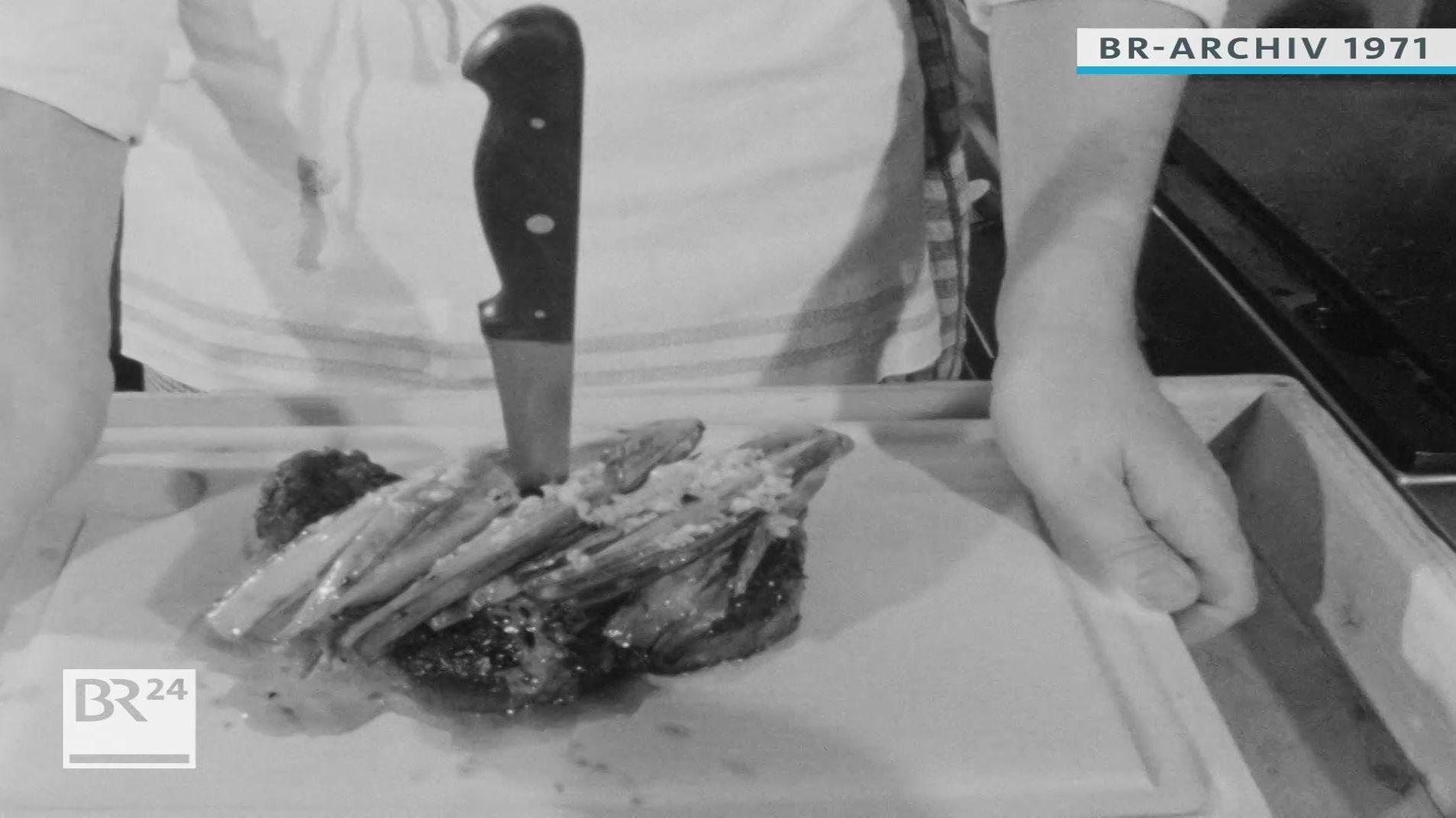 angerichtetes Steak