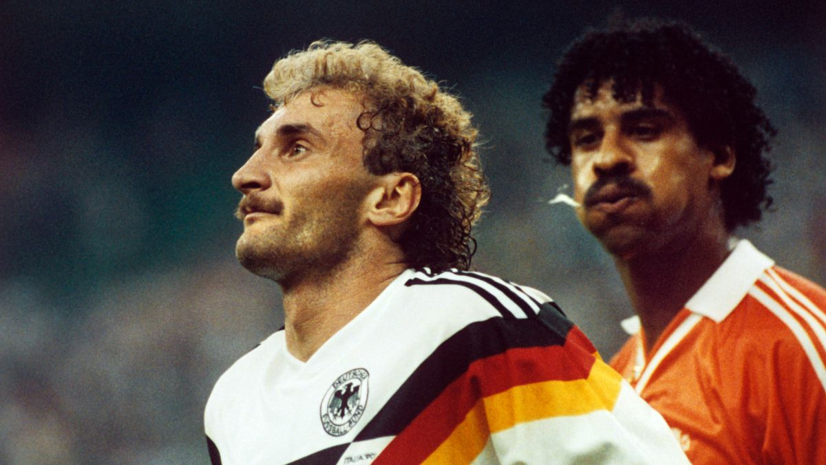 Rudi Völler und Frank Rijkaard