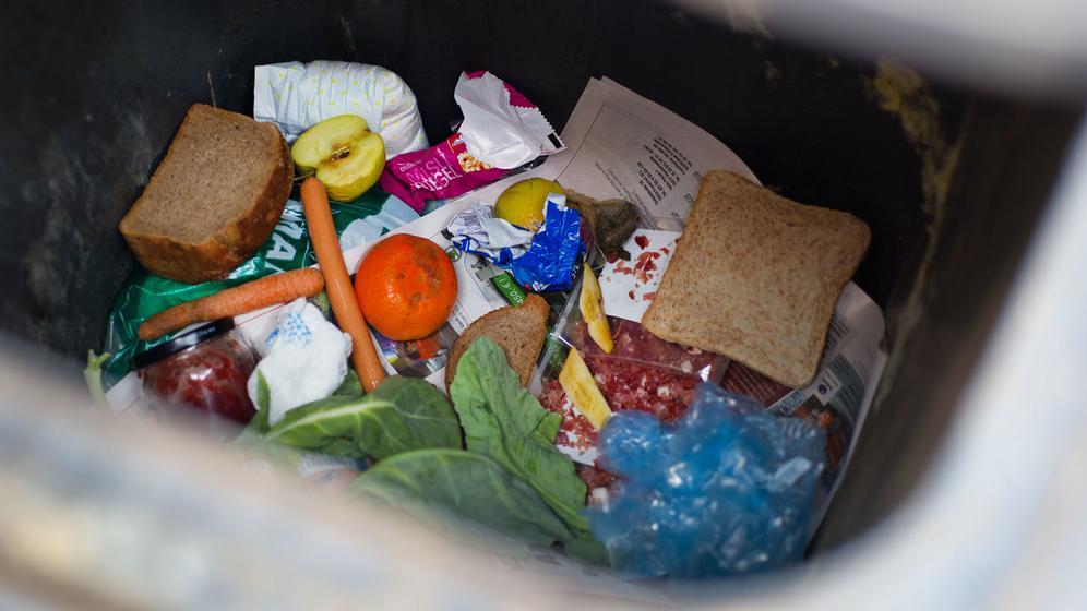 Lebensmittelverschwendung | Bild:picture alliance / dpa