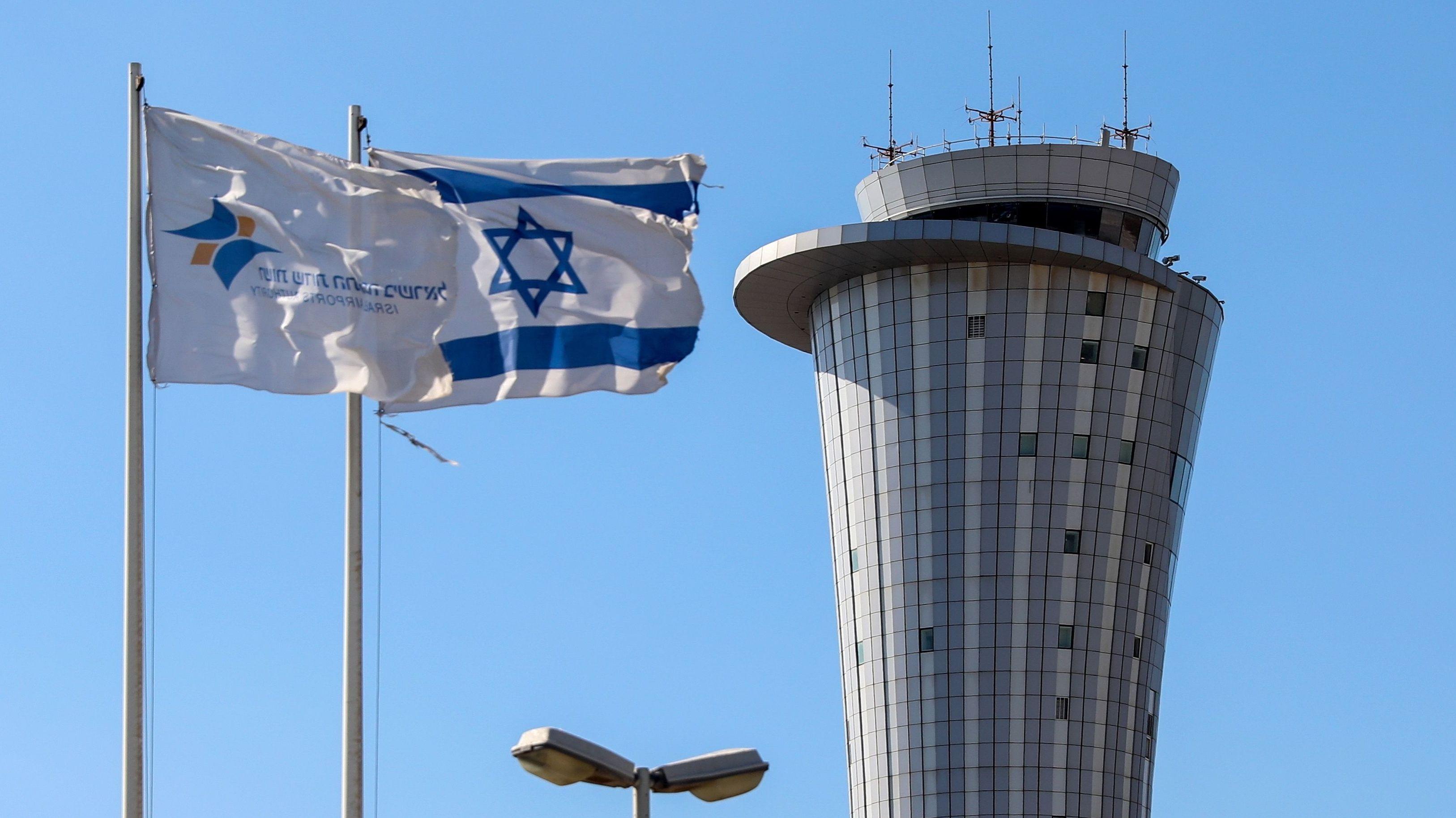 Airport Ben Gurion in Tel Aviv