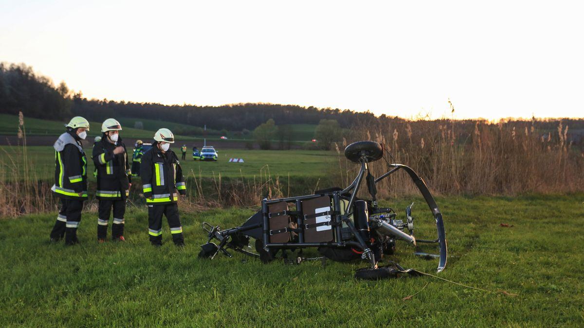 Mann stürzt mit Gyrocopter ab und stirbt