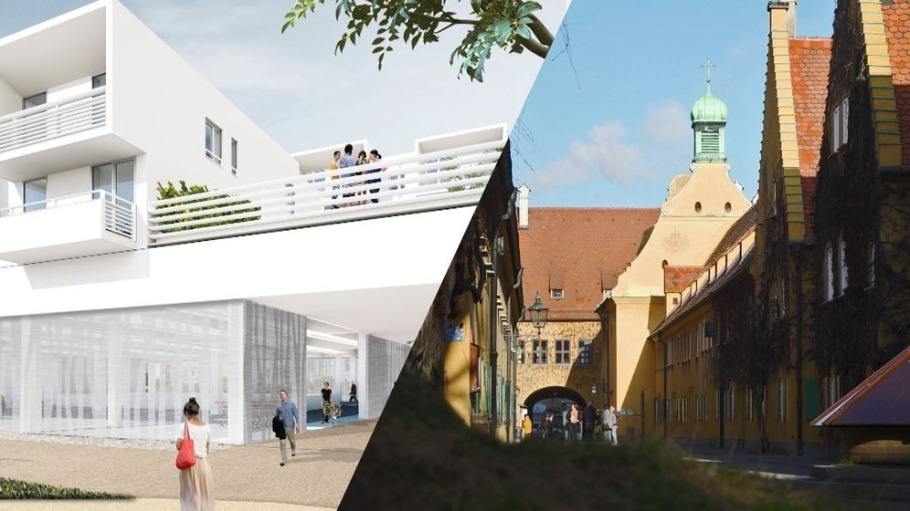 Seit der Fuggerei weiß Augsburg, wie sozialer Wohnbau funktioniert. Eigentlich.