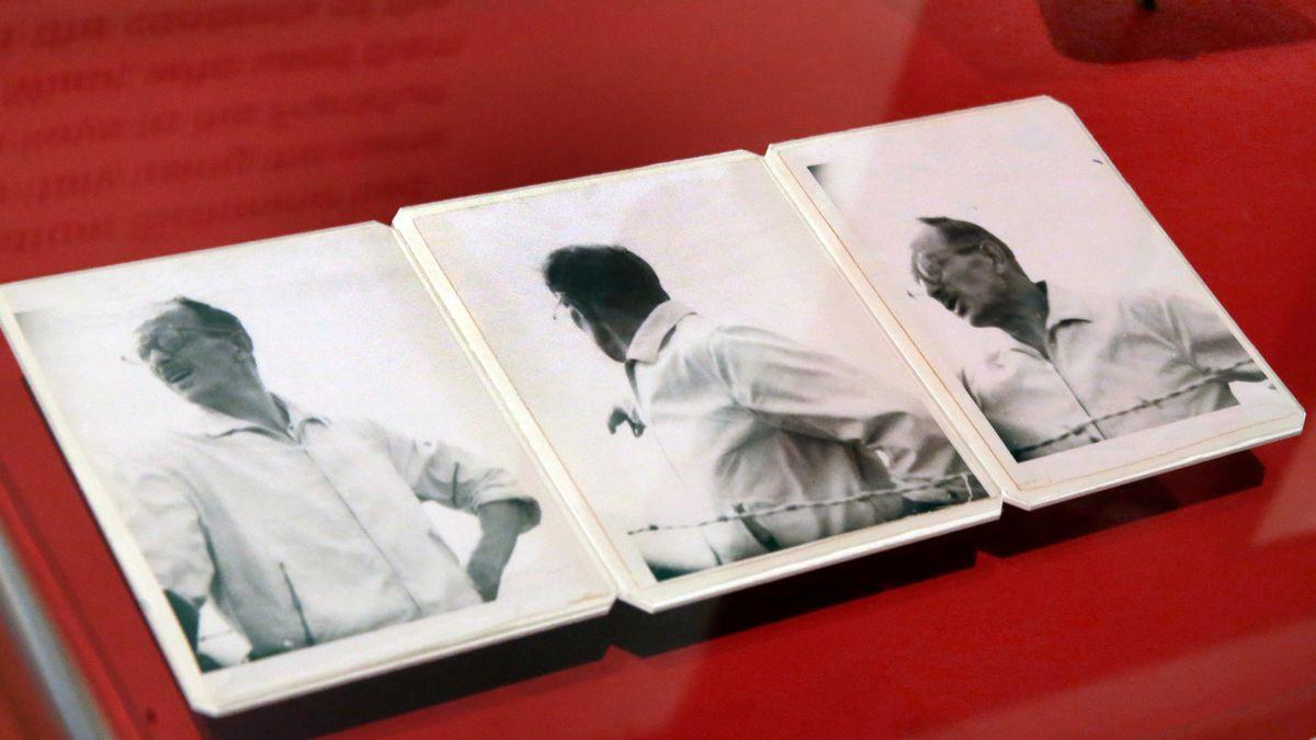 Vor 60 Jahren begann der Prozess gegen Adolf Eichmann. Die Fotos zeigen Eichmann in Argentinien, seinem Versteck vor der Entführung. (Archivbild)