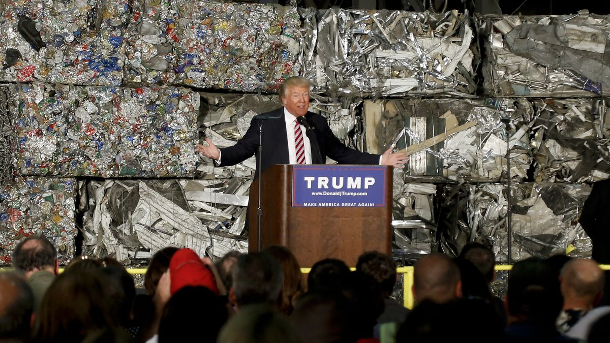 Trump bei seiner Wahlkampf-Veranstaltung im Juni 2016 in Monessen