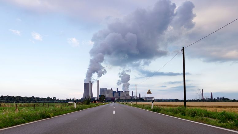 Das Kraftwerk Niederaußem (Symbolbild) | Bild:pa / dpa