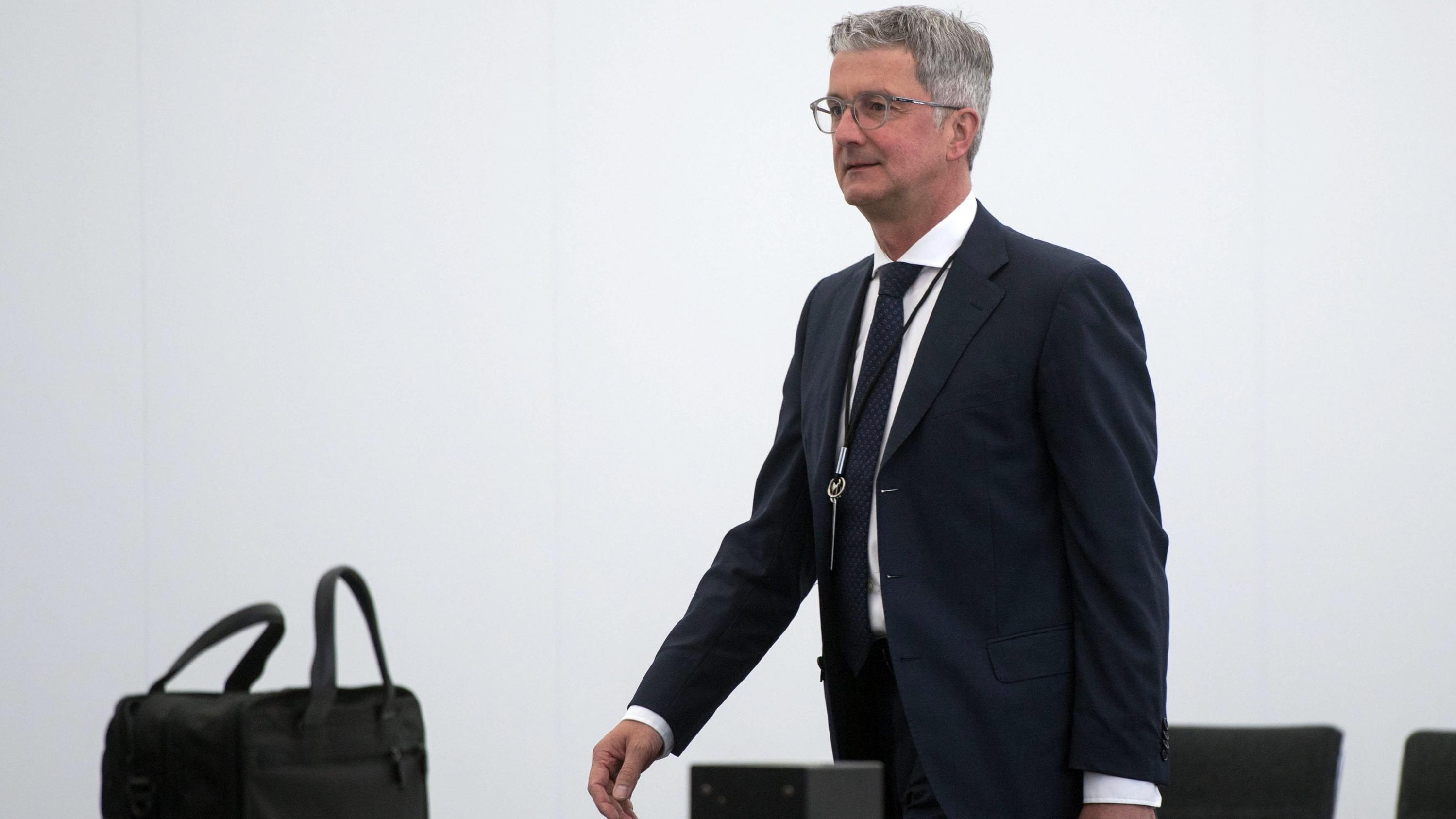 Der ehemalige Vorstandsvorsitzende der Audi AG Rupert Stadler