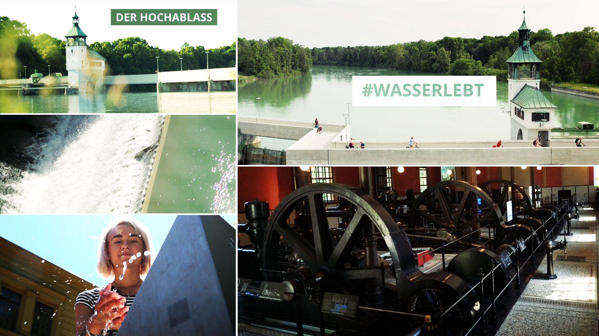 Am Augsburger Hochablass startet die BR-Serie zur UNESCO-Bewerbung der Stadt.