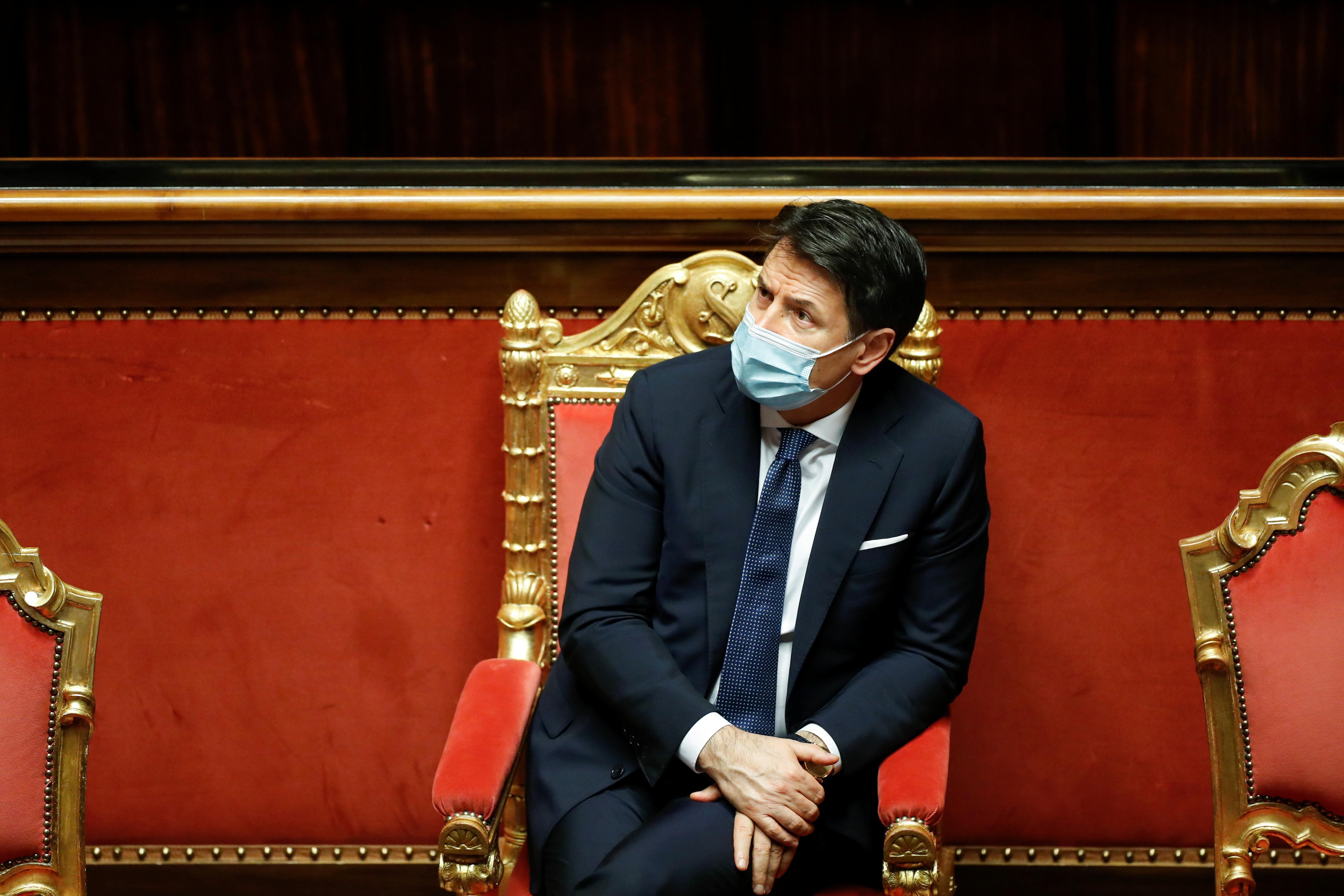 Italiens Regierungschef Conte kündigt Rücktritt an | BR24