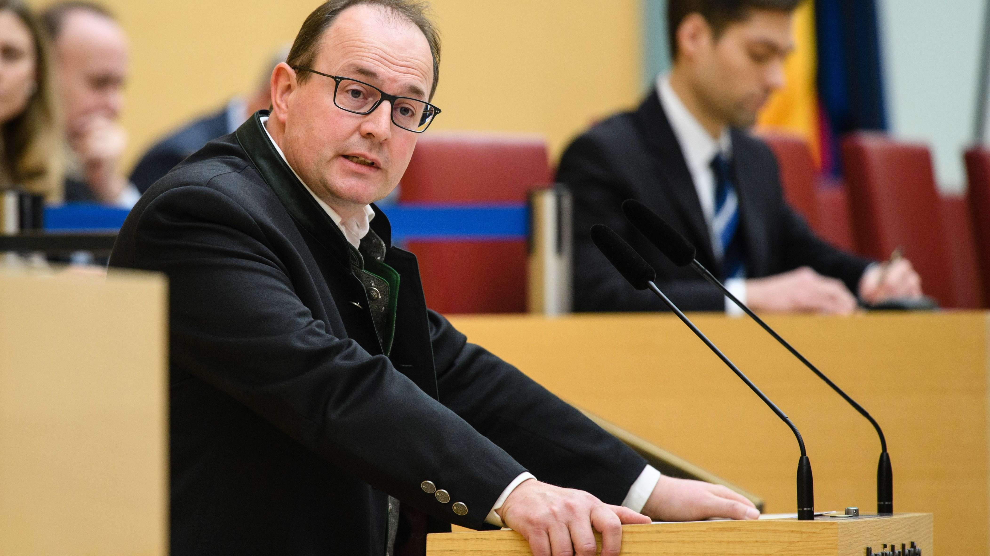 Markus Plenk (AfD), AfD-Fraktionschef im bayerischen Landtag