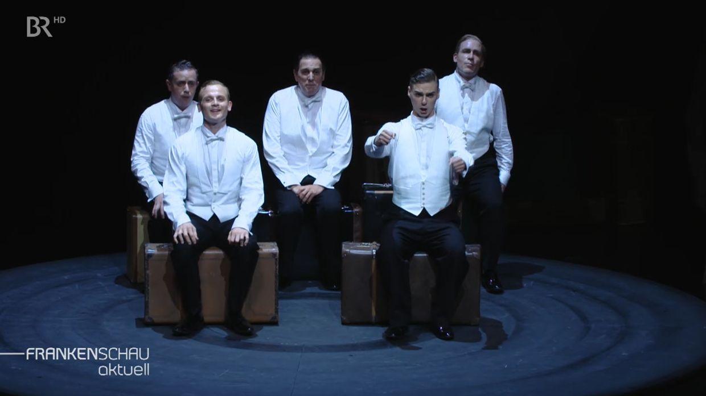 """Comedian Harmonists"" am Mainfrankentheater Würzburg"