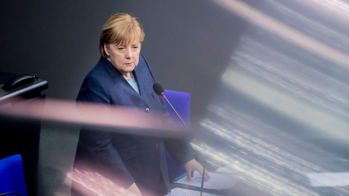 """""""Wir wollen keine Vermögensabgabe"""", sagte Kanzlerin Merkel am Mittwoch in der Regierungsbefragung im Bundestag."""