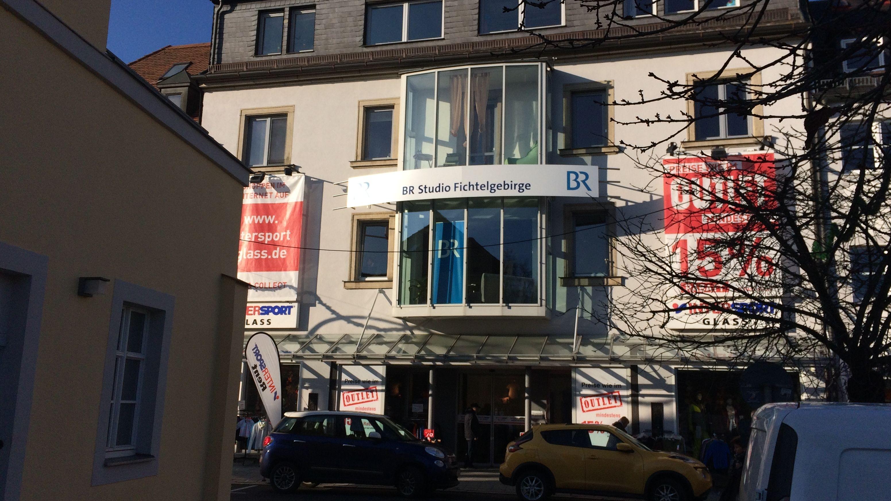Das BR-Studio Fichtelgebirge in Marktredwitz