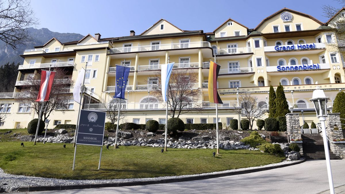 Vier-Sterne-Hotel Grand Hotel Sonnenbichl in Garmisch-Partenkirchen