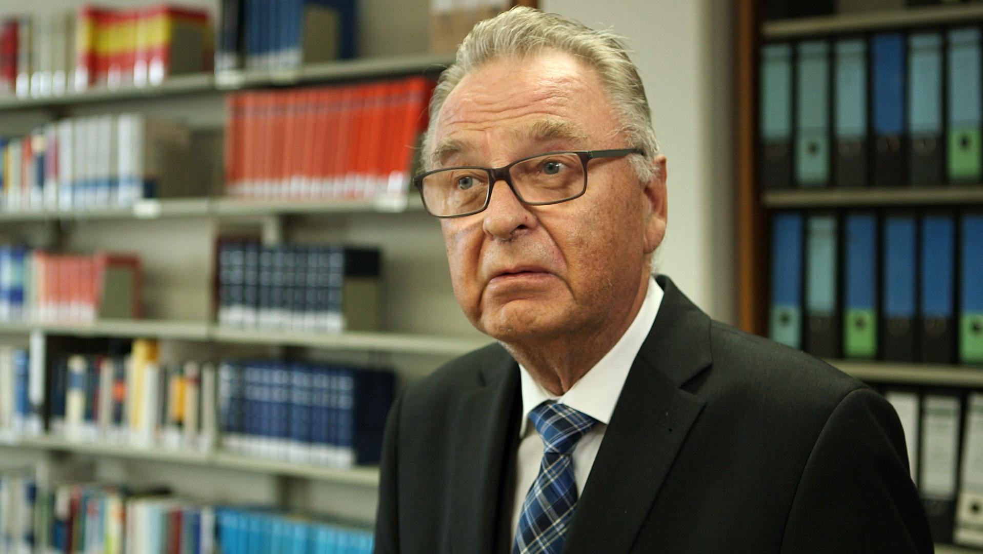 Hans-Jürgen Papier, ehemaliger Präsident des Bundesverfassungsgerichtes