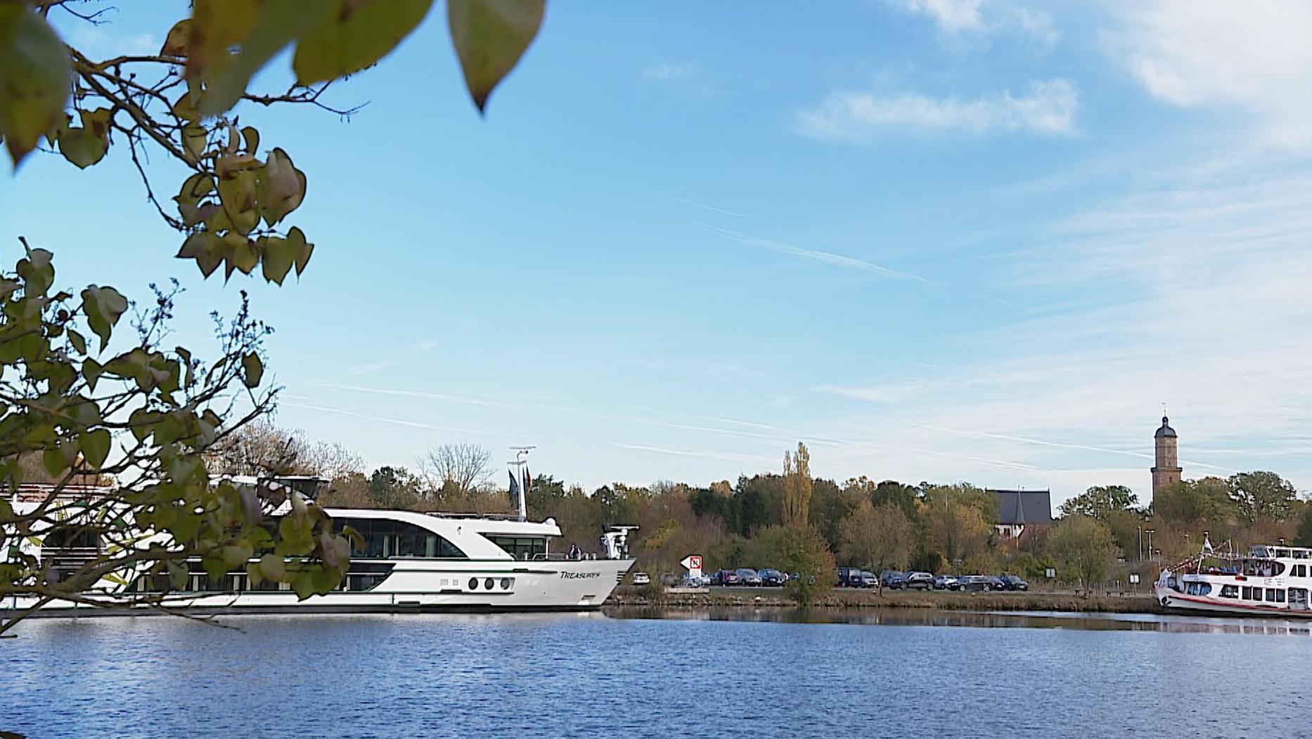 Hotelschiff in Volkach