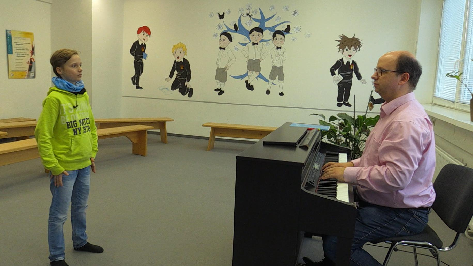 Ein Junge beim Vorsingen beim Tölzer Knabenchor. Doch ausgerechnet der Vorzeigechor aus München hat Nachwuchssorgen.