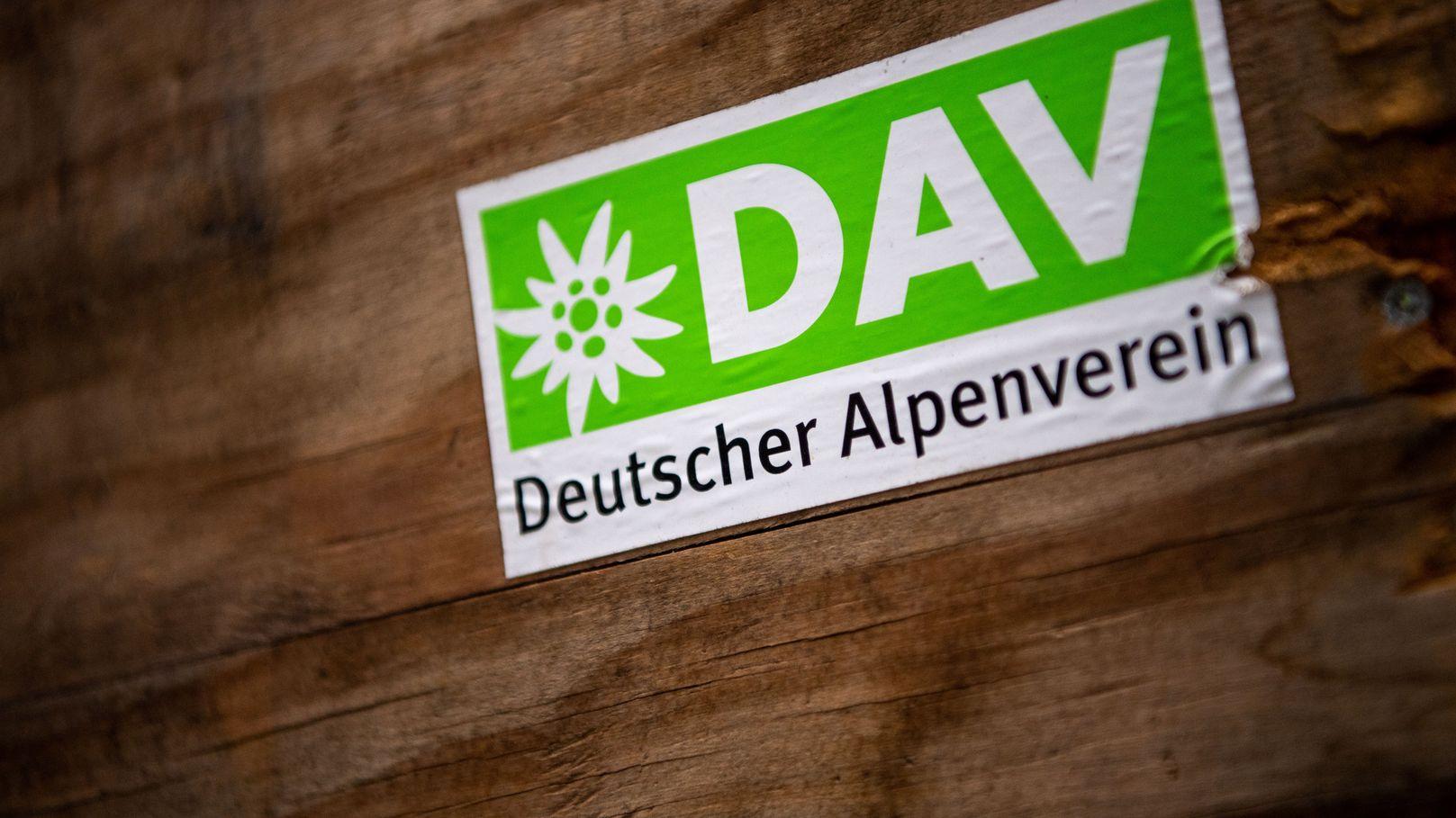 Das Logo des Deutschen Alpenvereins (DAV)