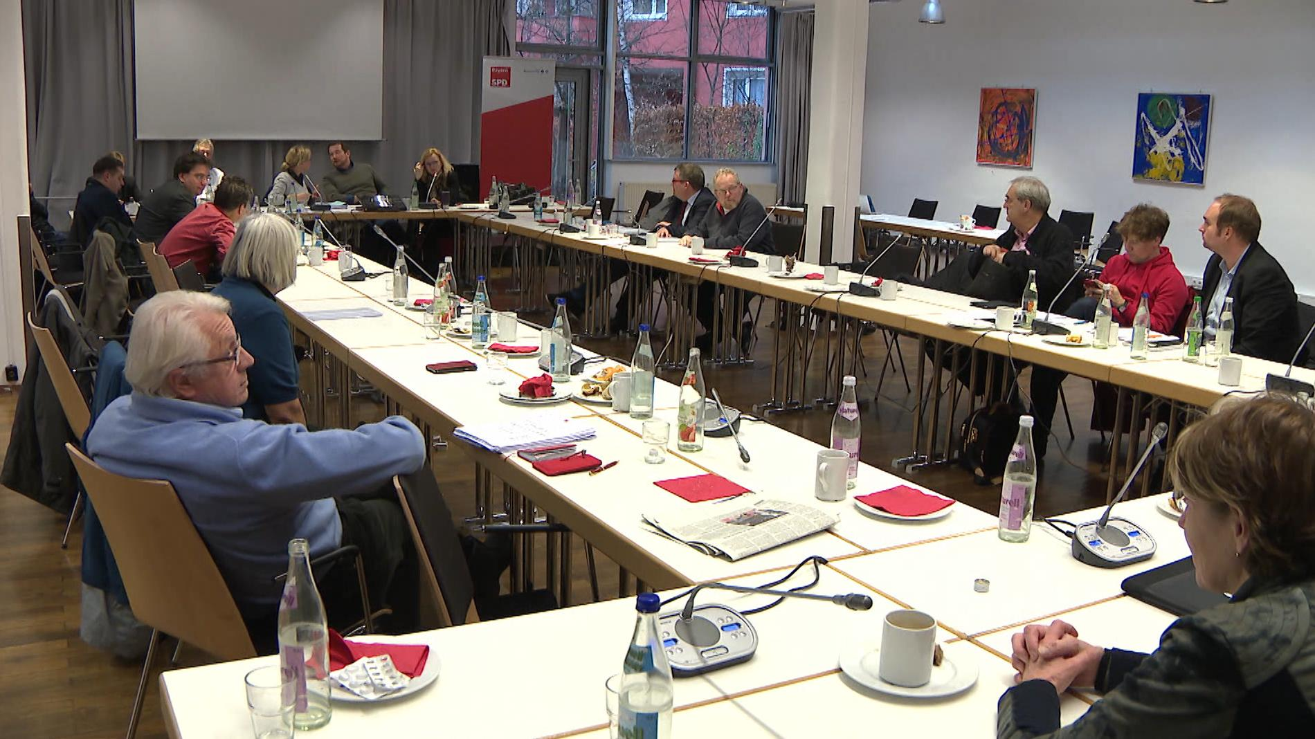 Vorstandssitzung der Bayern-SPD