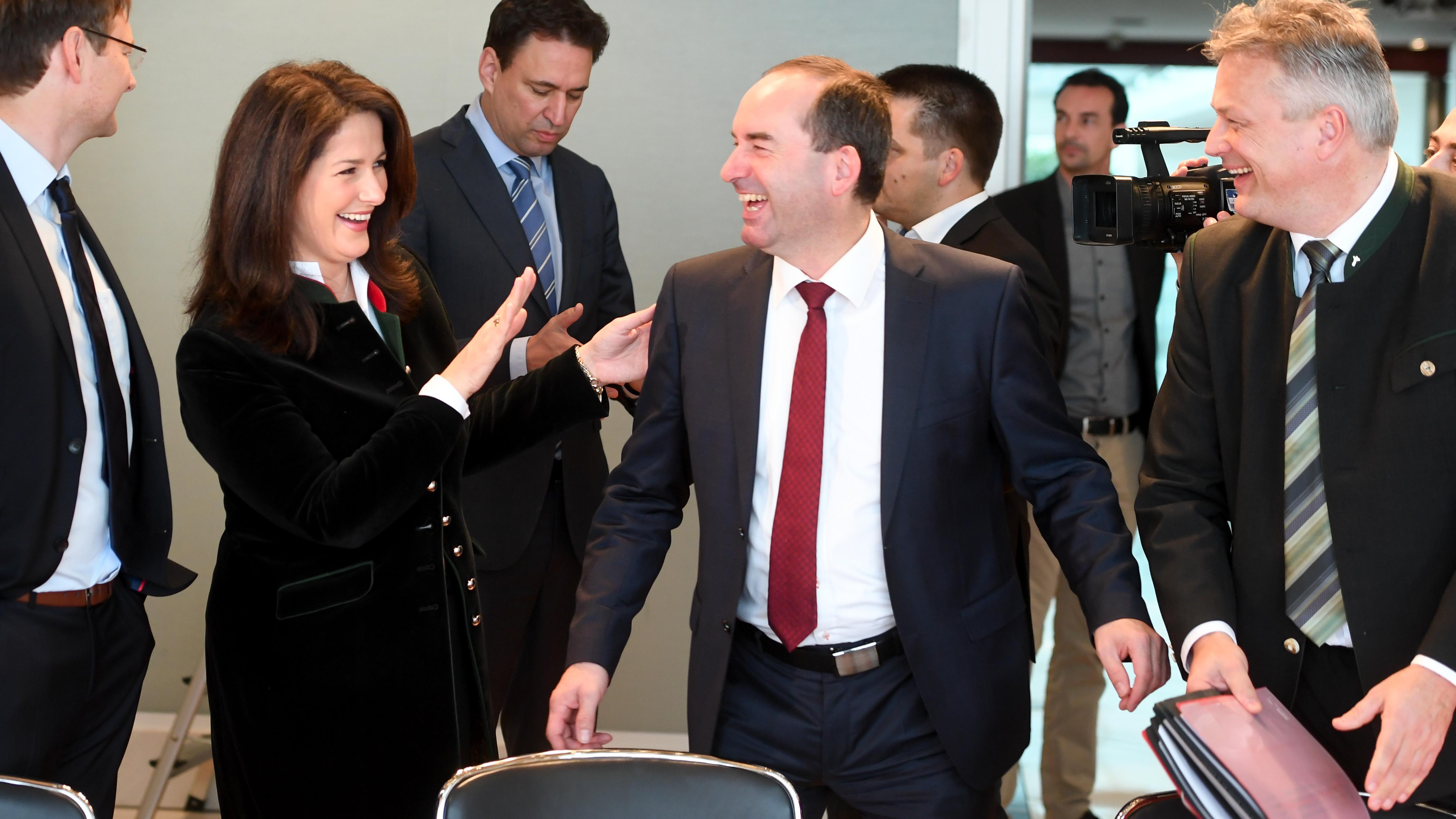 Sitzung des Bayerisches Kabinetts