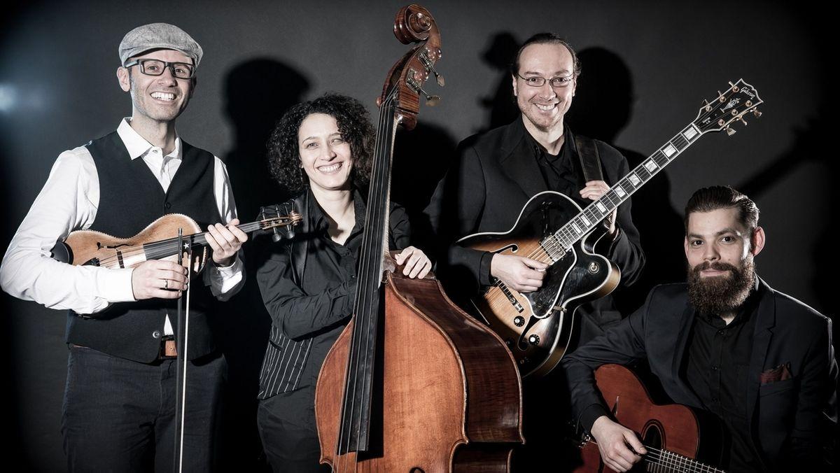"Band ""Inswingtief"" aus Würzburg"