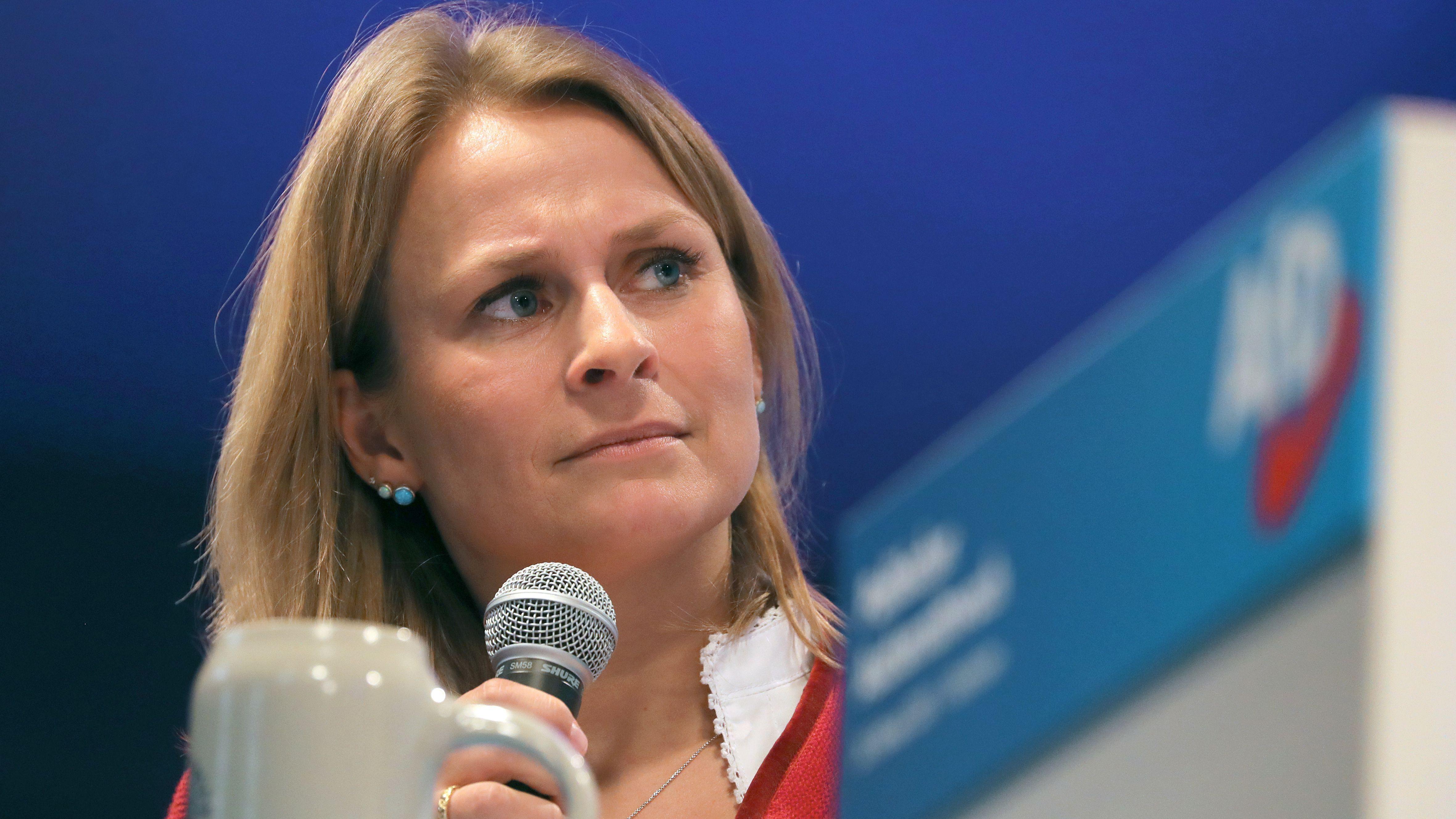Bayerns AfD-Chefin Corinna Miazga hofft auf eine gütliche Lösung des Konflikts.