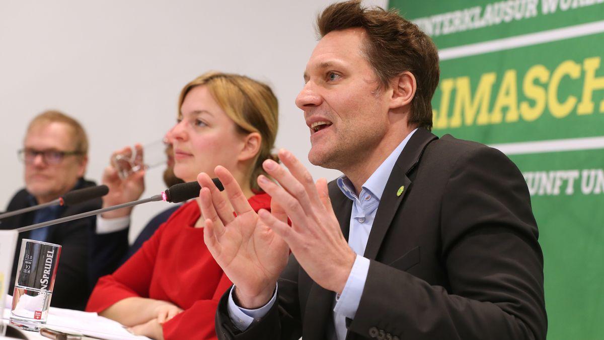 Das Chef-Duo der Landtags-Grünen in Bayern: Katharina Schulze und Ludwig Hartmann.