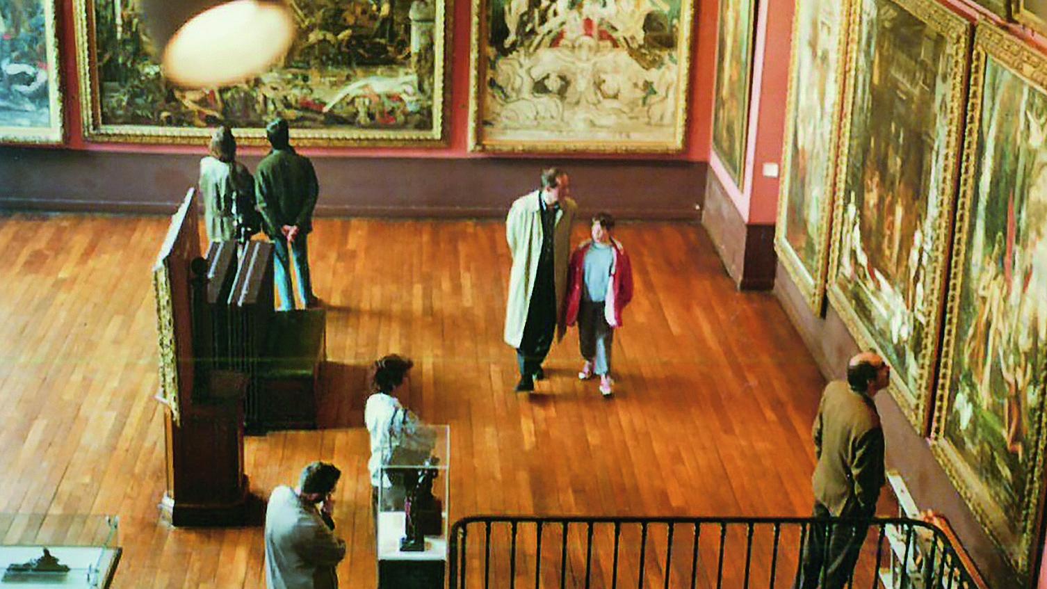 Als Teenager schon ging Johann König mit seinem Vater in Kunstausstellungen