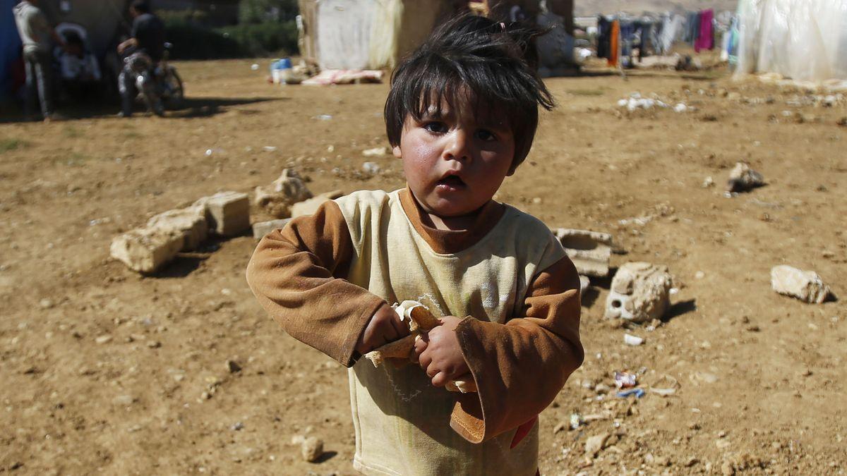 Kind im Libanon