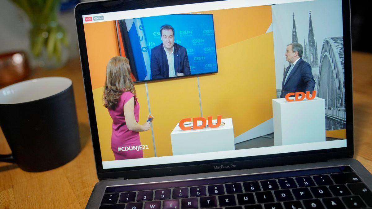 """""""Er zeigt Führungsstärke"""": CDU-Rufe nach Söder-Kandidatur"""