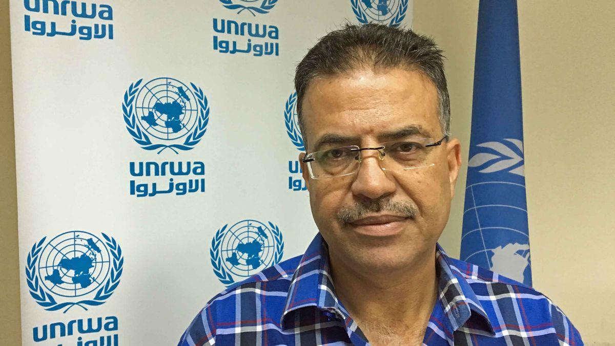 Adnan Abu Hasna, Sprecher von UNRWA