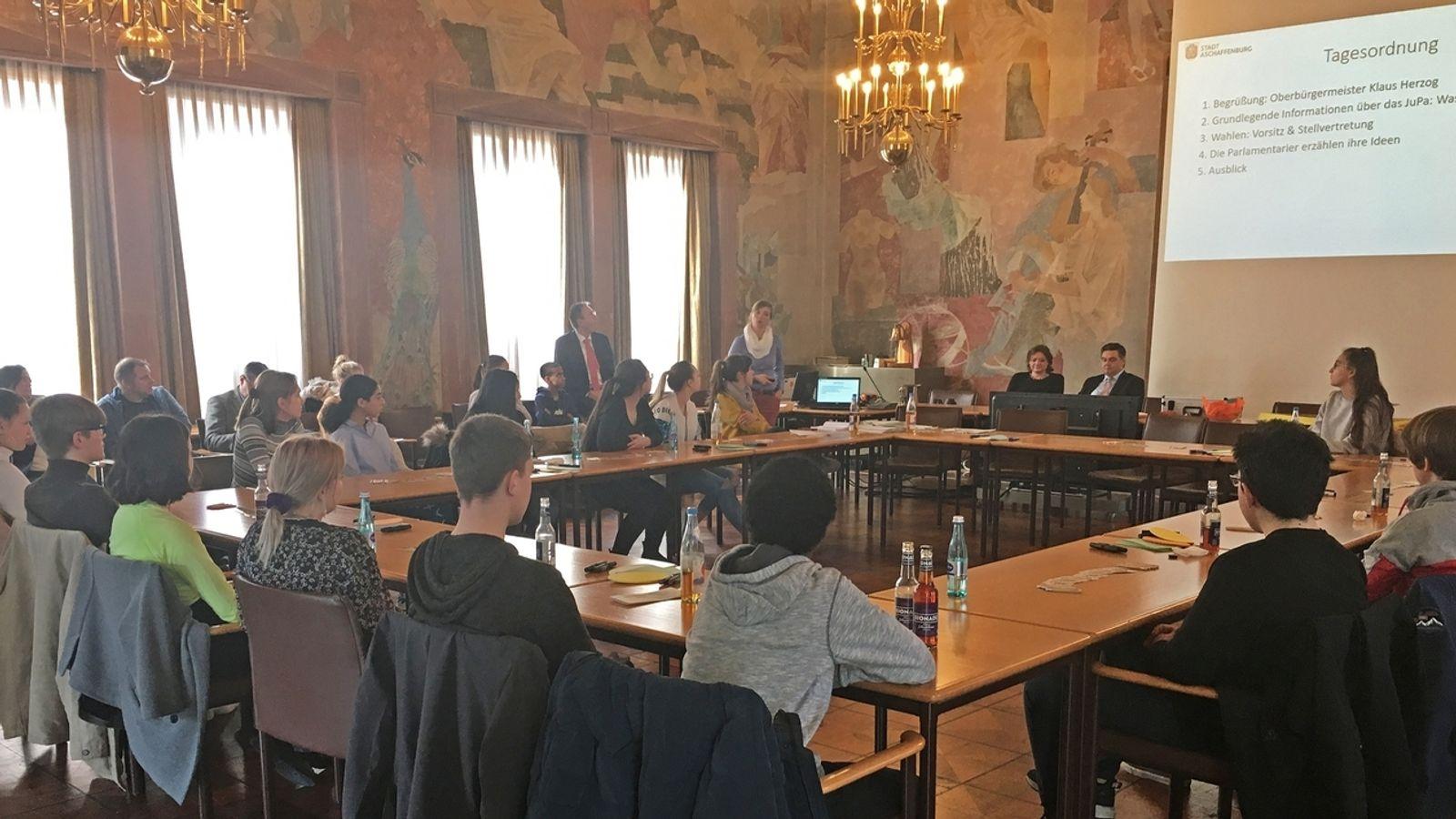 Ein Jahr Jugendparlament Aschaffenburg