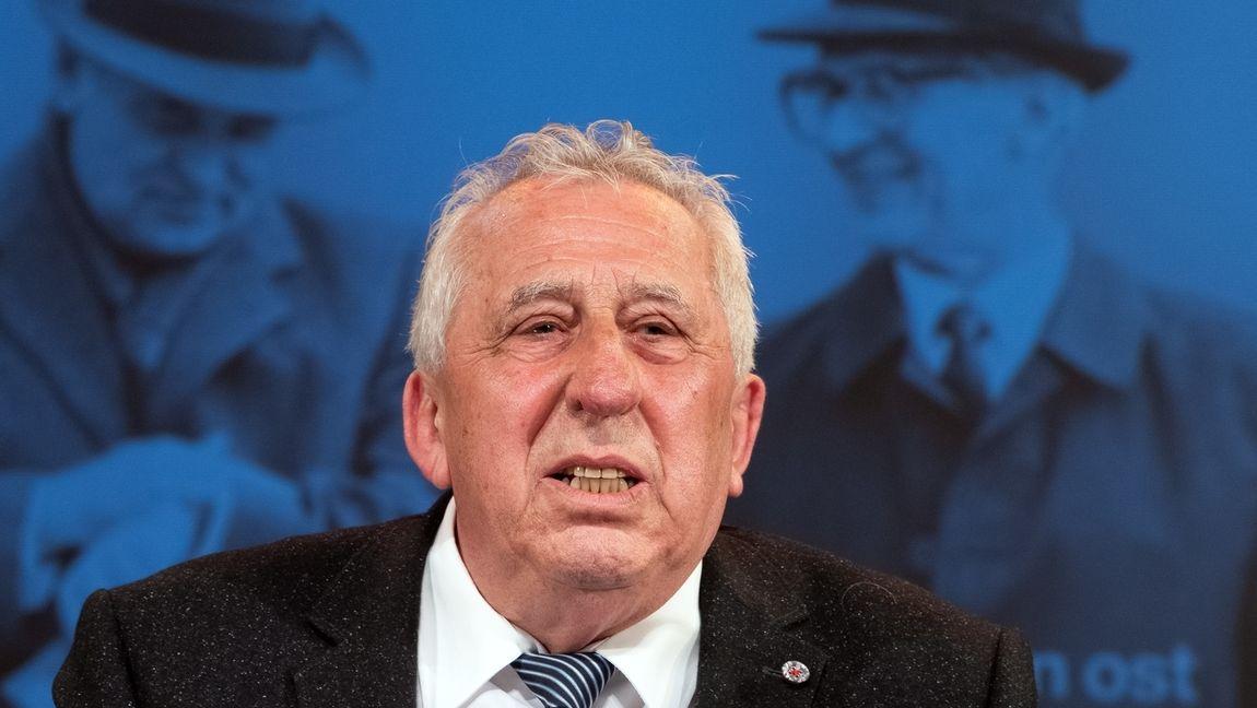 Egon Krenz, letzter Staatsratsvorsitzender der DDR (im Juli 2019)