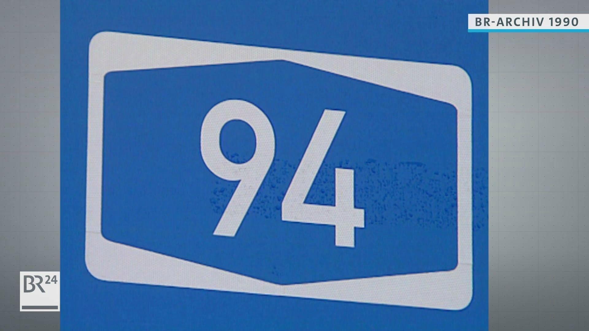 Autobahnschild A94