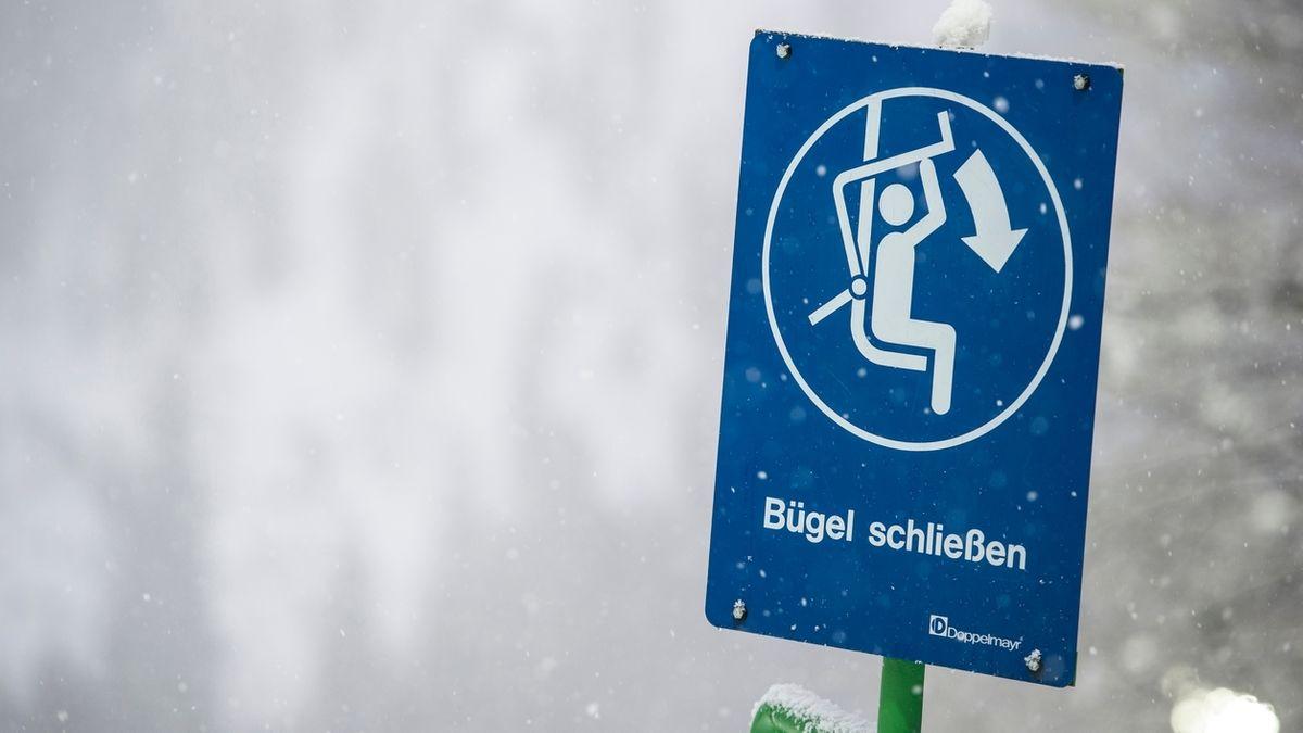 Oberstdorf ohne Ski-Fahrer