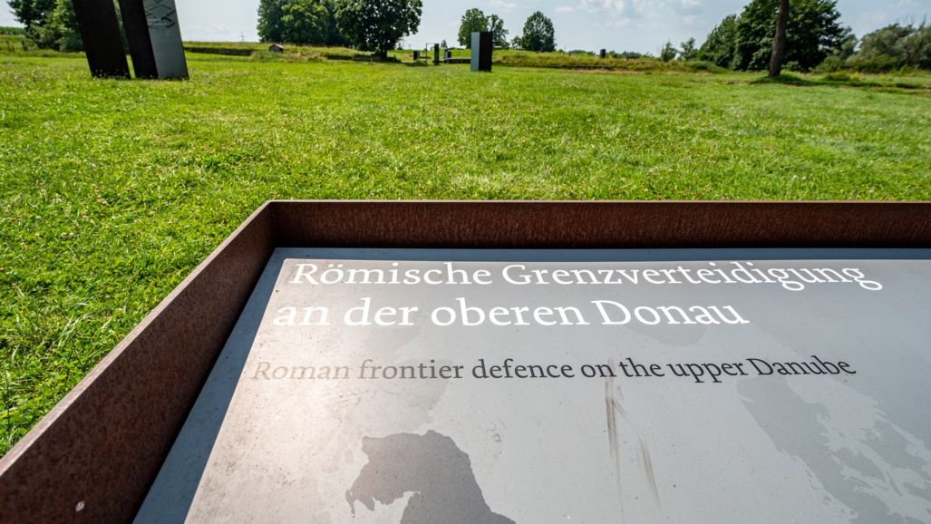 Die römischen Grenzverteidigungsanlagen entlang der Donau - hier bei Eining - erhalten vorerst keinen Welterbestatus