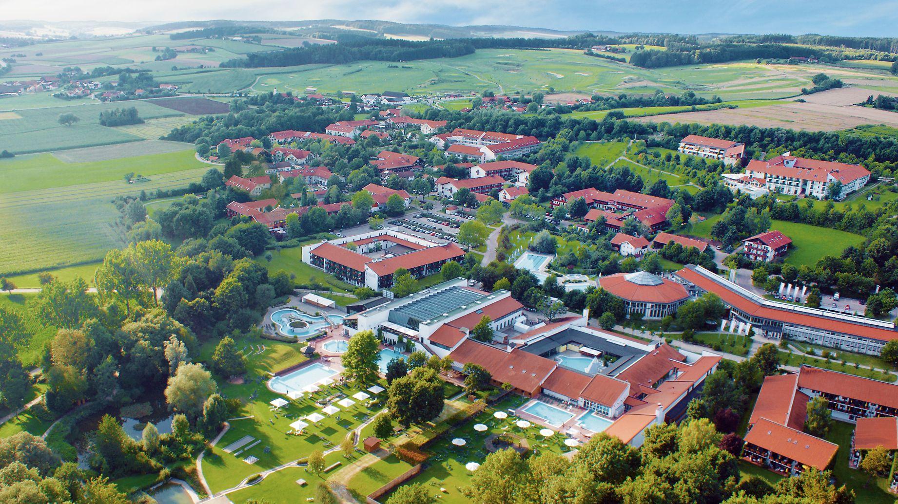 Bad Birnbach von oben