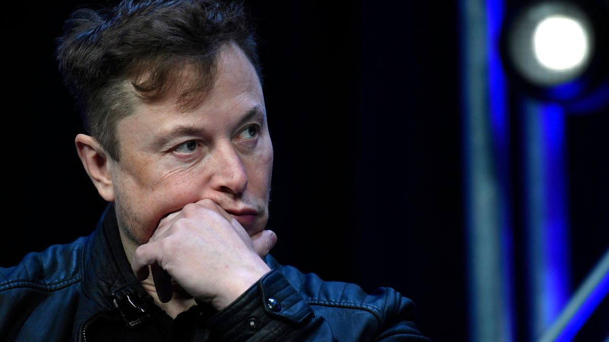 Tesla-Chef Elon Musk nimmt im März 2020 an der Satellite-Konferenz in Washington teil.