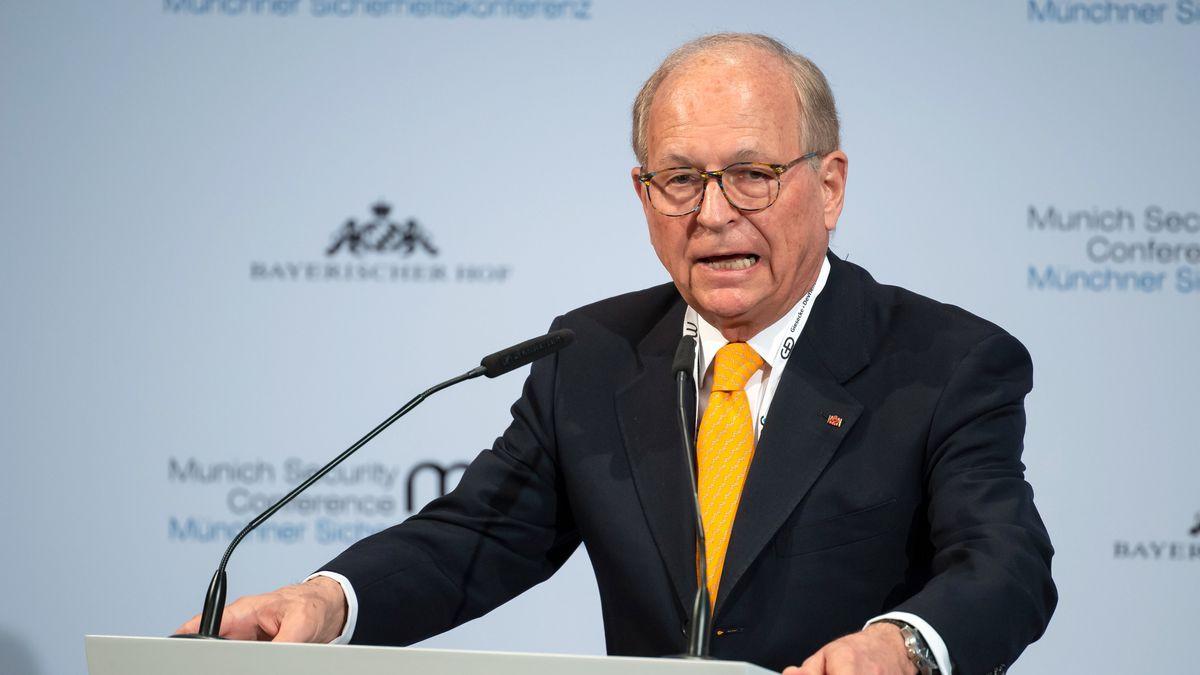 Wolfgang Ischinger auf der Siko 2020