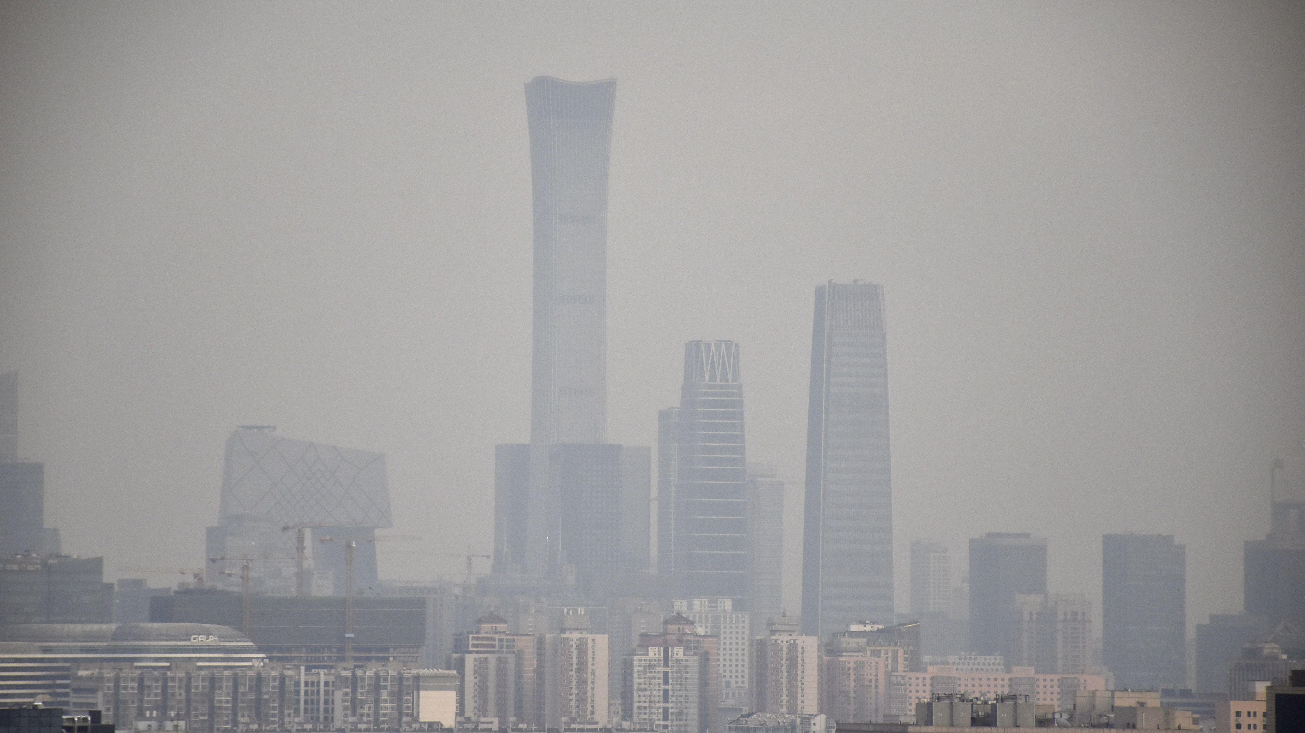 Luftverschmutzung in China