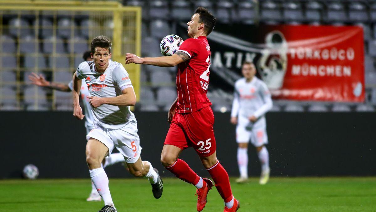 Spielszene Türkgücü München - FC Bayern II