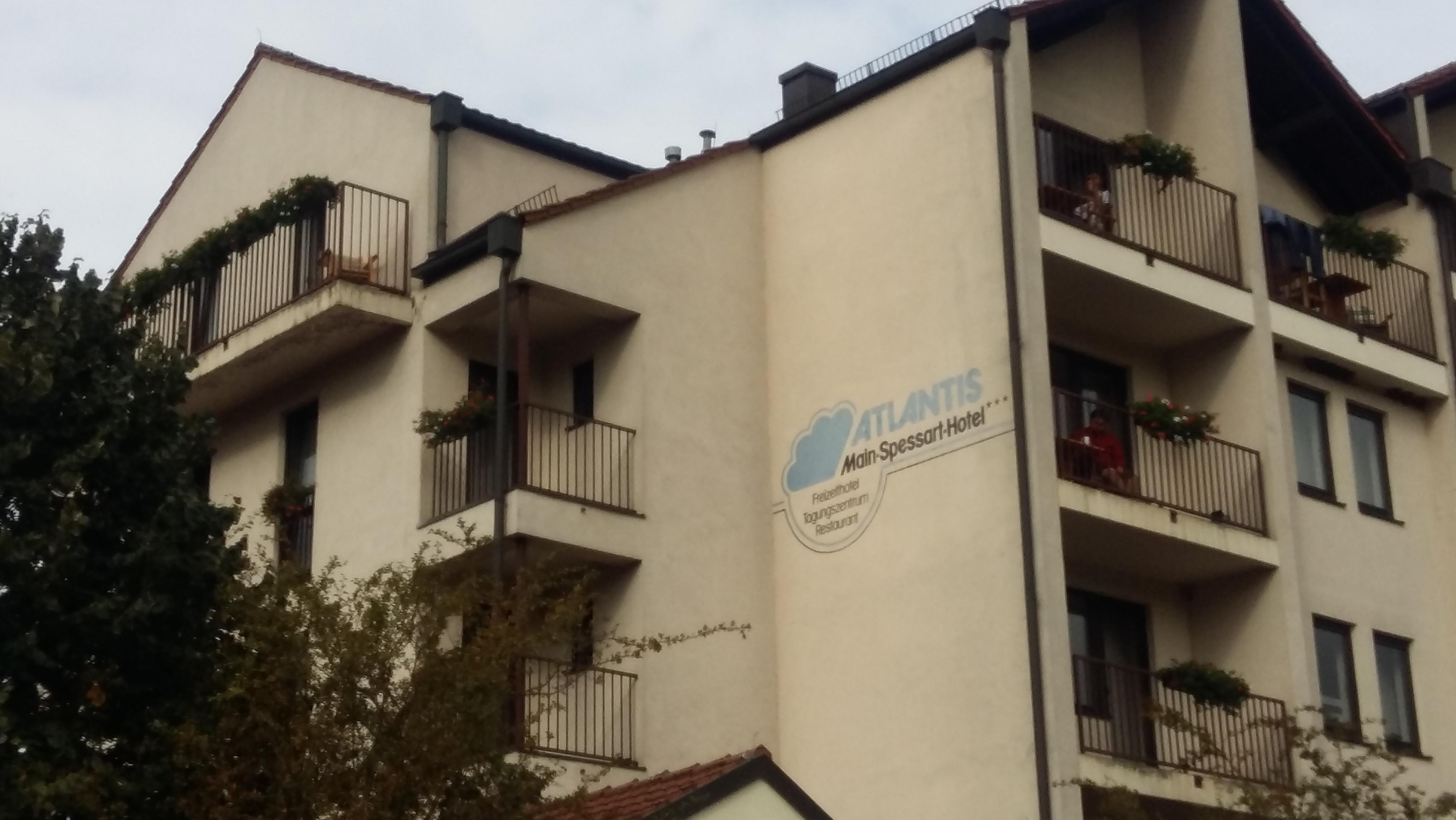 Das ehemalige Gemündener Hotel Atlantis