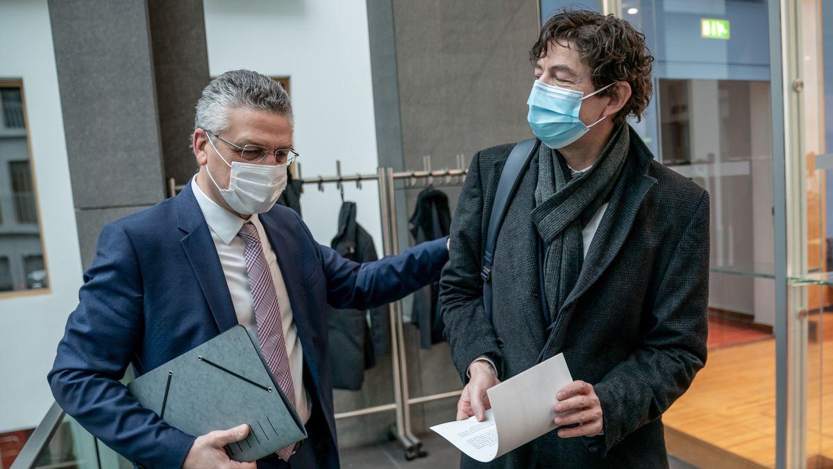 RKI-Chef Wieler und Virologe Drosten