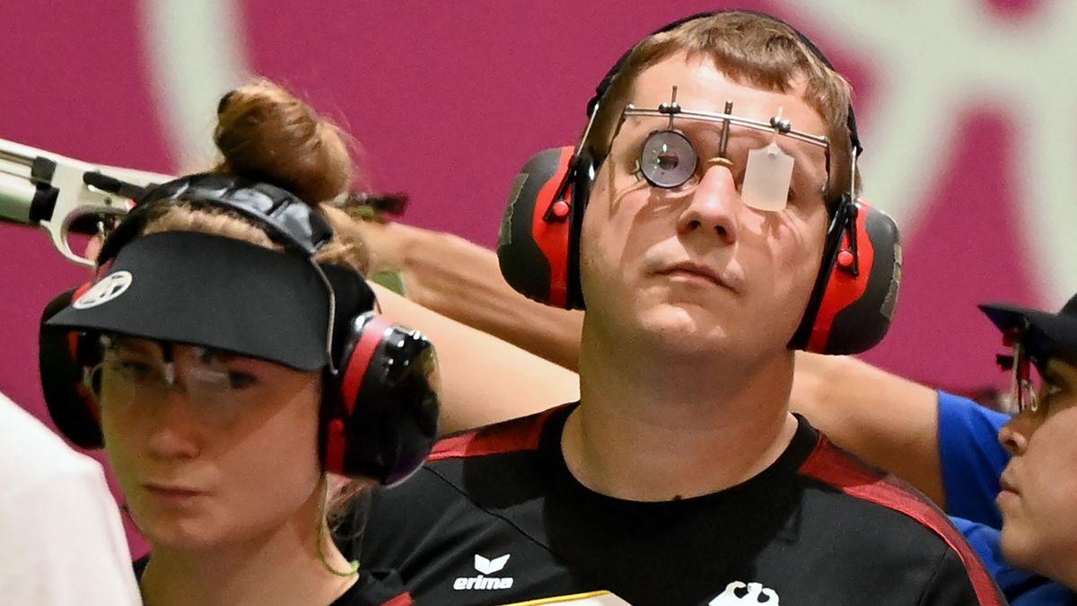 Carina Wimmer und Christian Reitz in Aktion.
