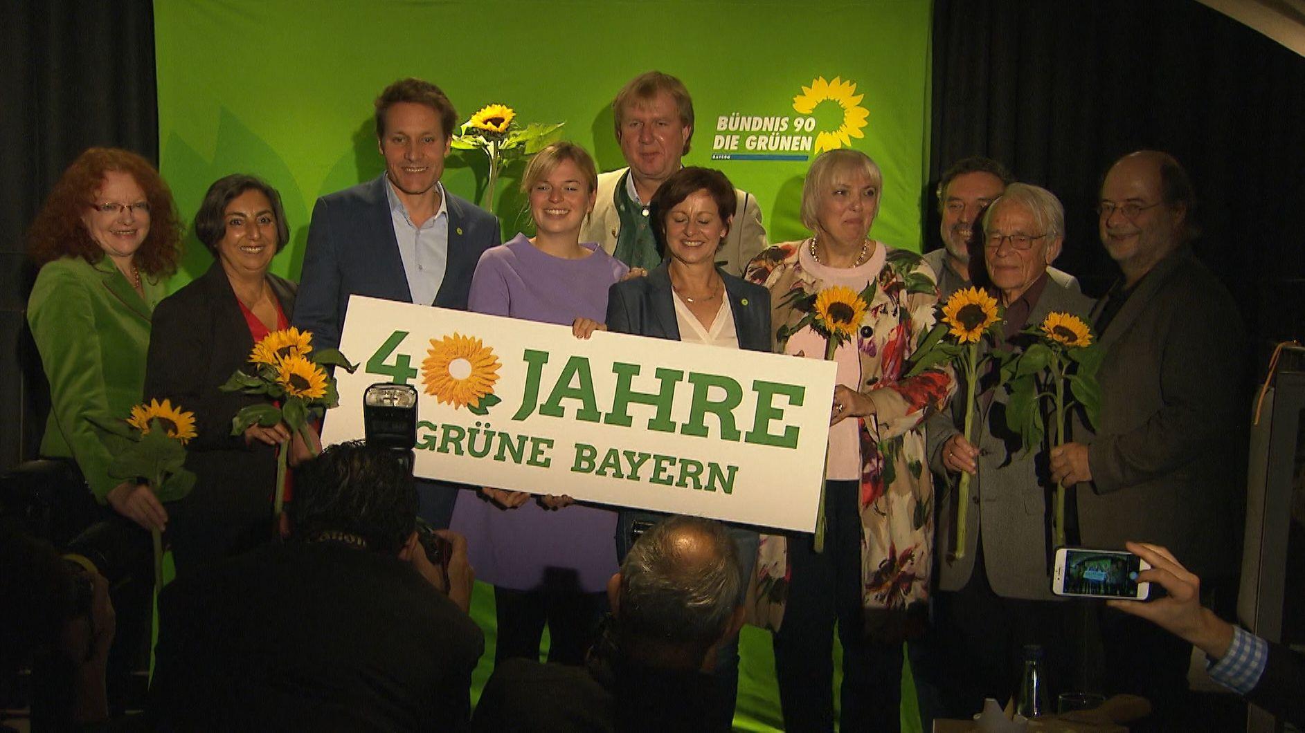 Die Grünen in Bayern werden 40